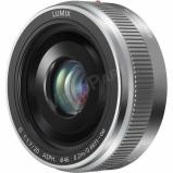 Lumix H-H020AE-S Mikro 4/3-os rendszerű,pancake típusú Lumix G objektív; 20 mm (35 mm ekv.: 40 mm) - ezüst