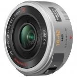 Lumix G X m4/3 Power Zoom optika 14/42, ezüst