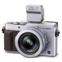 4K videós, LEICA SUMMILUX optikás prémium digitális fényképezőgép - ezüst + AJÁNDÉK akkumulátor!