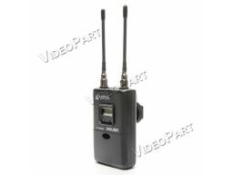 UHF vezetéknélküli diversity hangvevõegység LCD kijelzõvel - XLR / miniJack csatlakozó