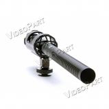 AZDEN SGM-1000, professzionális puskamikrofon - XLR csatlakozó