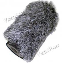 AZDEN SWS-100, mikrofonhoz szélzajszûrõ kutyaszőr - rövid