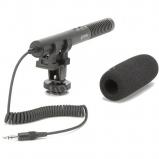AZDEN SMX-10, kamera sztereo puska mikrofon mini jack csatlakozással