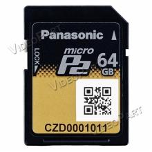 64GB mikroP2 kártya