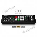 hordozható 4x HDMI csatornás keverő