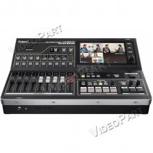 12 videobemenet / 4 videocsatornás kép- és hangkeverő web streaming funkcióval