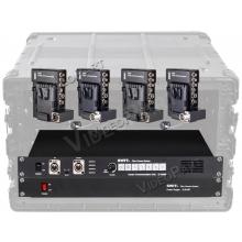 4 csatornás CCU rendszer száloptikai összeköttetéssel