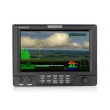 "7"" SDI / HDMI / CVBS kamera LCD monitor extra funkciókkal"