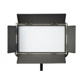 LED lámpatabló 576LED Bi-Color Panel 1600Lux Gold mount