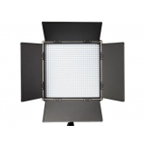 LED lámpatabló 1024LED Daylight Panel 5100Lux Gold mount