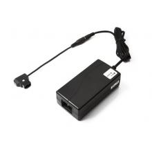 hordozható D-tap csatlakozós akkumulátor töltő