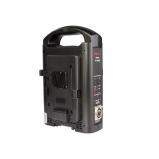 V-mount akkumulátor töltő és tápegység - 2 töltőhelyes