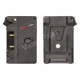 SWIT S-7005A, akkumulátor adapter - Gold-mount akkumulátor V-mount kamerára