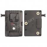 akkumulátor adapter - V-mount akkumulátor Gold-mount kamerára