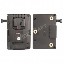 SWIT S-7005S, akkumulátor adapter - V-mount akkumulátor Gold-mount kamerára