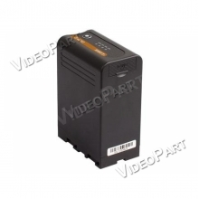 SONY BP-U típusú kamera akkumulátor DC és USB aljzattal 86Wh