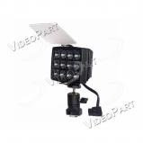 LED (napfény) kamerafejlámpa 2000lx maximális fényerővel