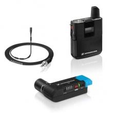 vezetéknélküli digitális PRO kamera-mikrofon szett csíptetős mikrofonnal