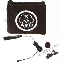 gömbkarakterisztikájú csíptetős fantomtáplált mikrofon XLR csatlakozóval