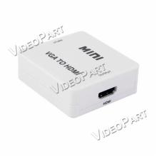 VGA-RÓL HDMI-re mini konverter