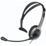 Kezelői fejhallgató hangerőszabályzóval