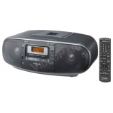 Panasonic RX-D55AEG-K Hordozható CD-s rádiómagnó, USB, MP3