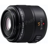 Mikro 4/3-os rendszerű Leica DG Vario-Elmarit makró-objektív; 45 mm (35 mm ekv.: 90 mm)