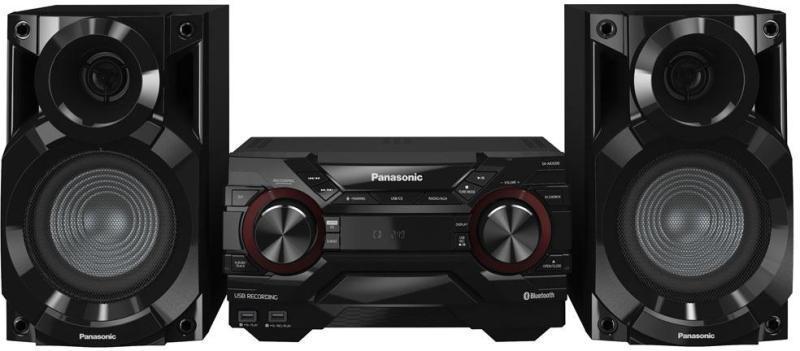 Panasonic mini Hi-Fi torony - fekete SC-AKX200E-K