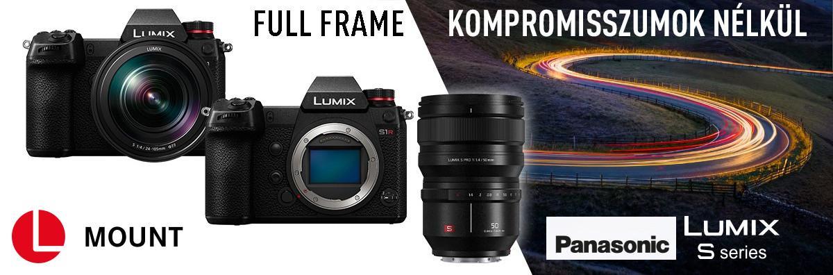 Panasonic LUMIX-S Full Frame 24x36